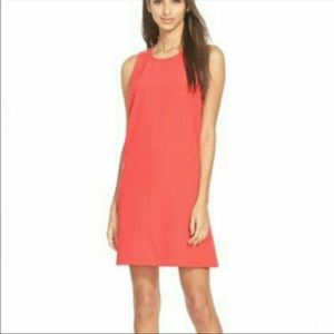 Leith Coral Shift Dress